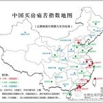 China housing agony map