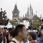 Shanghai Disney crowds