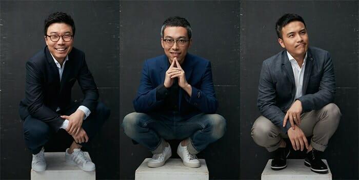 MyDreamPlus founders Mengfei Wen, Wenlei Li and Xiaolu Wang