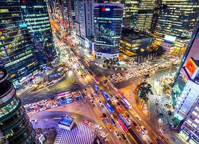 Seoul gangnam korea